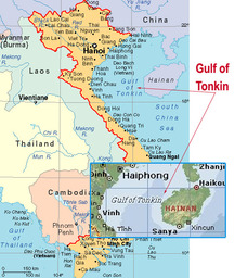 What started the gulf of tonkin incident?
